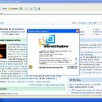 Internet Explorer 6 di Windows Vista